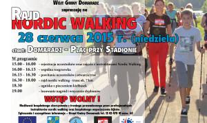 Gmina Domaradz zaprasza na Rajd Nordic Walking (28.06.2015)