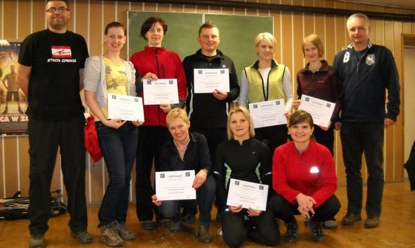 Pierwsi podkarpaccy sędziowie Nordic Walking.