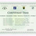 Certyfikat Puszczy i Zubra