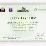 Certyfikat Sieniawa