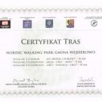 Certyfikat Tras-Gmina Wejhe