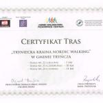 Certyfikat Tras-Tryncza