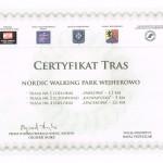 Certyfikat Tras-Wejherowo