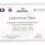 Certyfikat Tras-Wiazownica