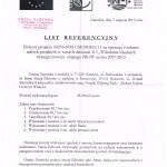Referencje Narewka