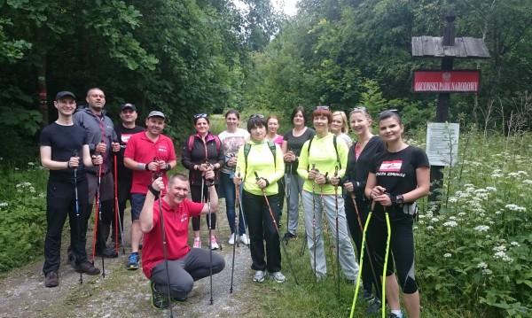 """Szkolenie Instruktorów Nordic Walking """"Na Jurze"""""""