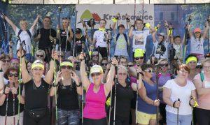 """Relacja z III Gminnego Rajdu Nordic Walking """"Rodzina na Start"""" Krzeszowice 2017"""